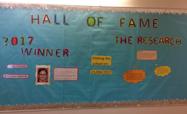 Honoured to be the Hall of Fame inductee